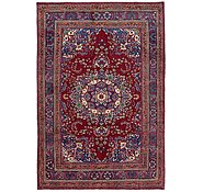 Link to 6' 5 x 9' 5 Mashad Persian Rug