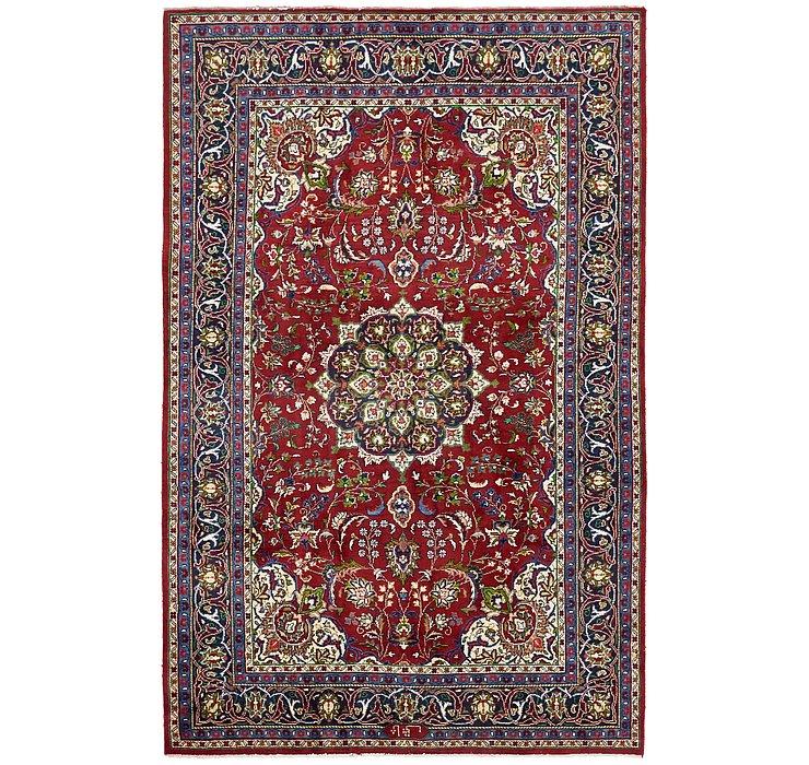 6' 6 x 10' Sarough Persian Rug