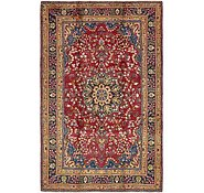 Link to 6' 4 x 10' Mashad Persian Rug