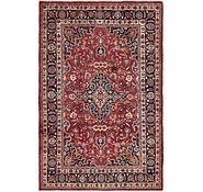 Link to 6' 6 x 10' Mashad Persian Rug
