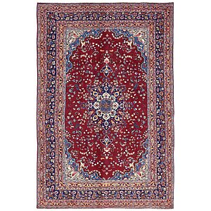 Link to 6' 5 x 9' 7 Mashad Persian Rug page