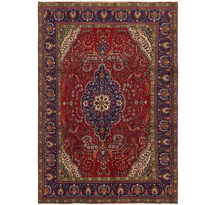 6' 9 x 9' 7 Tabriz Persian Rug
