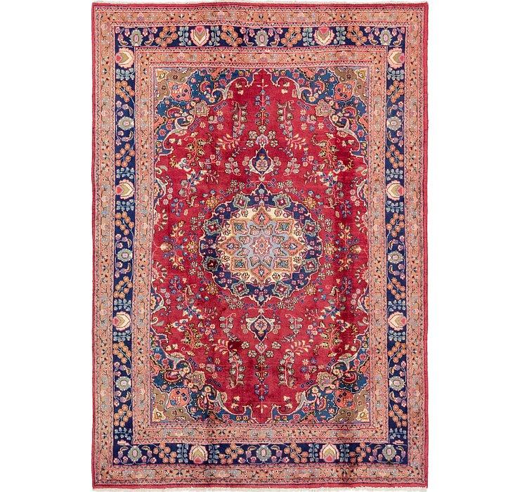 198cm x 287cm Mashad Persian Rug
