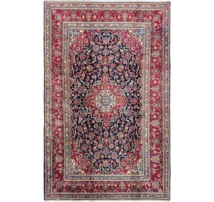 6' 2 x 10' Mashad Persian Rug