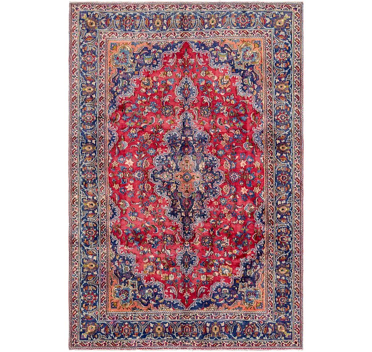 6' 2 x 9' 3 Mashad Persian Rug
