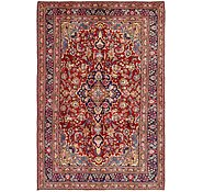 Link to 6' 6 x 9' 7 Mashad Persian Rug