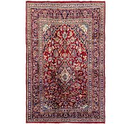 Link to 198cm x 305cm Mashad Persian Rug