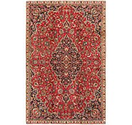 Link to 7' x 11' Mashad Persian Rug