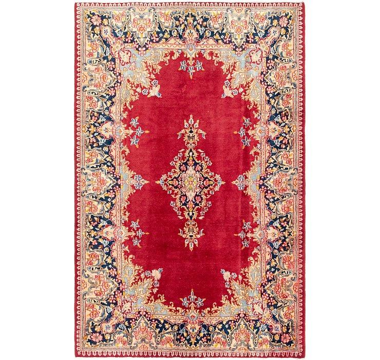 5' 10 x 9' Kerman Persian Rug