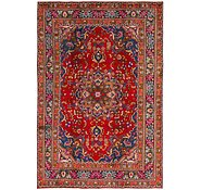 Link to 6' 5 x 9' 10 Mashad Persian Rug