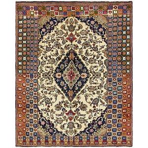 6' 5 x 8' Kashan Persian Rug