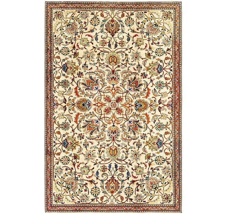5' 10 x 9' Tabriz Persian Rug