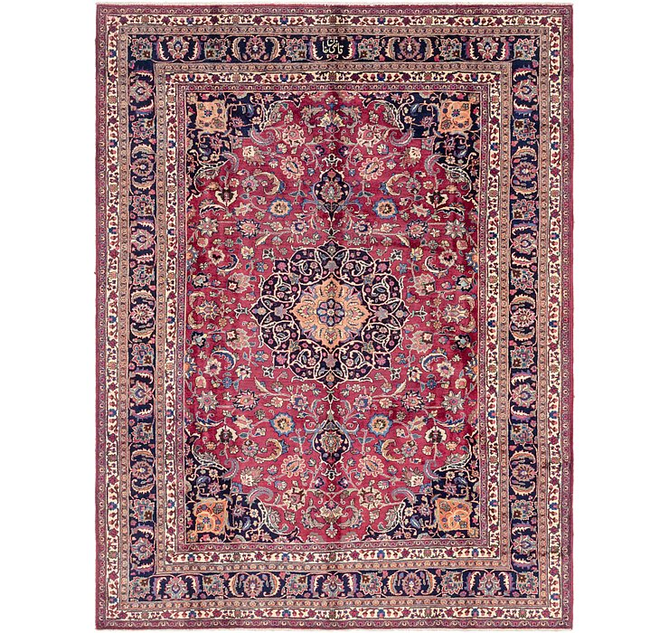 8' 5 x 11' Mashad Persian Rug