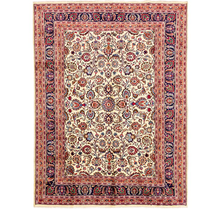 8' 2 x 10' 10 Mashad Persian Rug