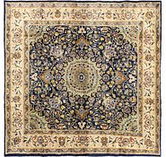 Link to 9' 8 x 9' 9 Mashad Persian Square Rug