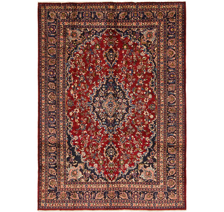 7' 10 x 11' 2 Mashad Persian Rug