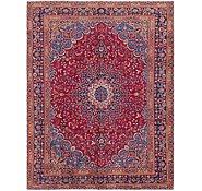 Link to 9' 9 x 12' 7 Mashad Persian Rug