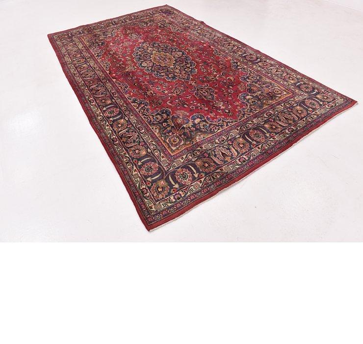 6' 5 x 10' 5 Mashad Persian Rug