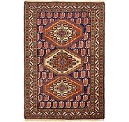 Link to 112cm x 160cm Yalameh Persian Rug