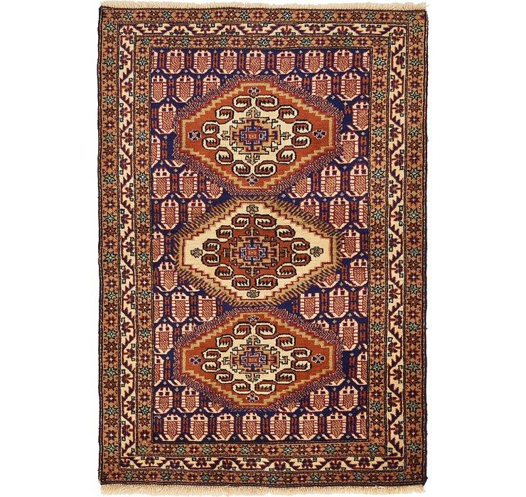 3' 8 x 5' 3 Yalameh Persian Rug