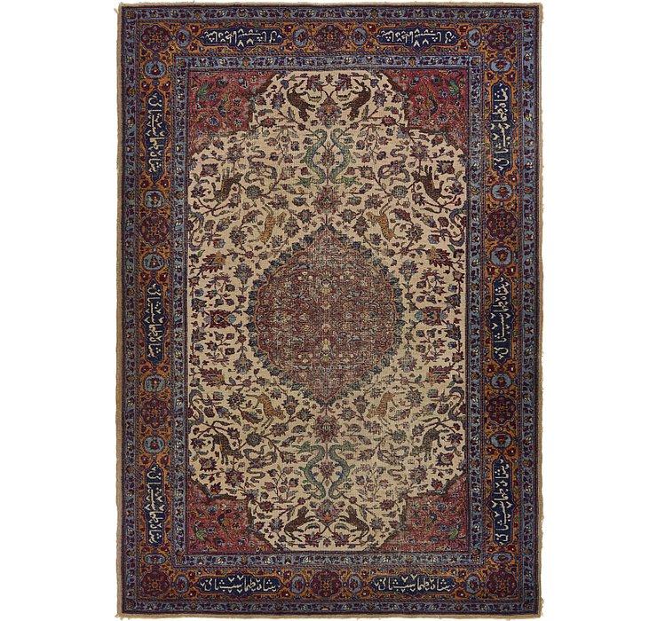 6' 4 x 9' 2 Isfahan Persian Rug