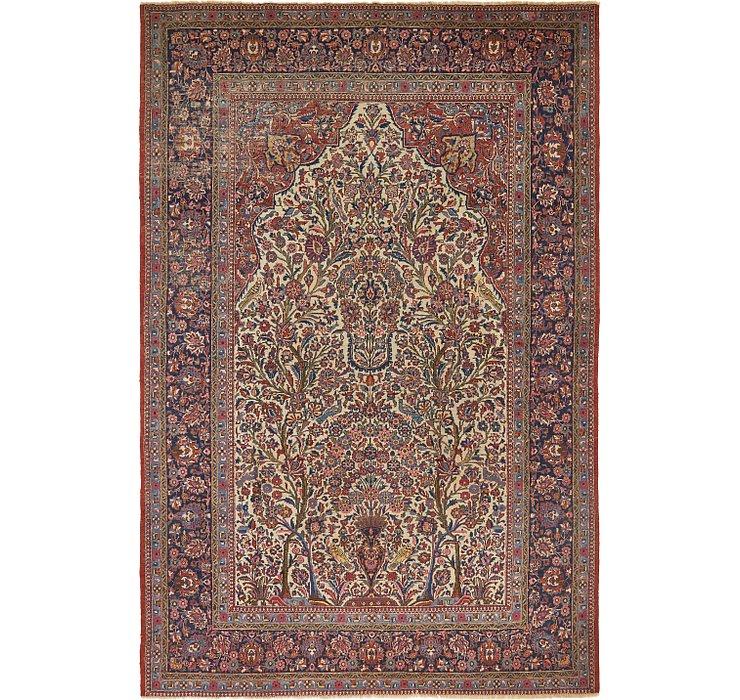 213cm x 320cm Isfahan Persian Rug
