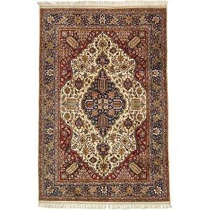 Unique Loom 6' 7 x 10' Tabriz Oriental Rug