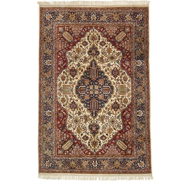 6' 7 x 10' Tabriz Oriental Rug
