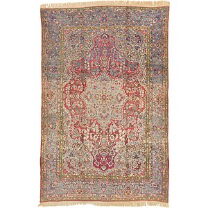 7' 10 x 12' Sarough Persian Rug