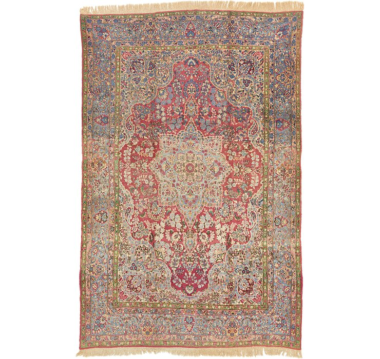 7' 10 x 12' Sarough Persian Rug