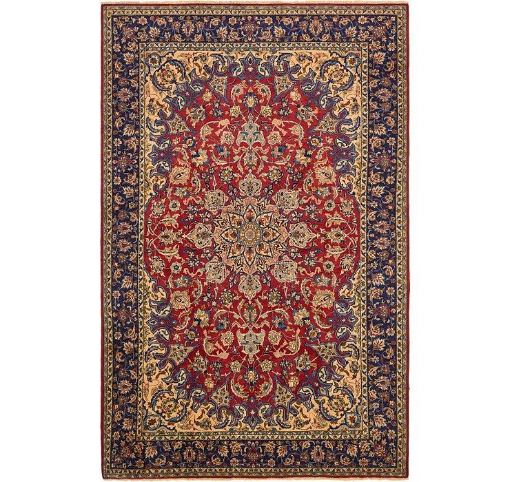 9' x 14' Isfahan Persian Rug