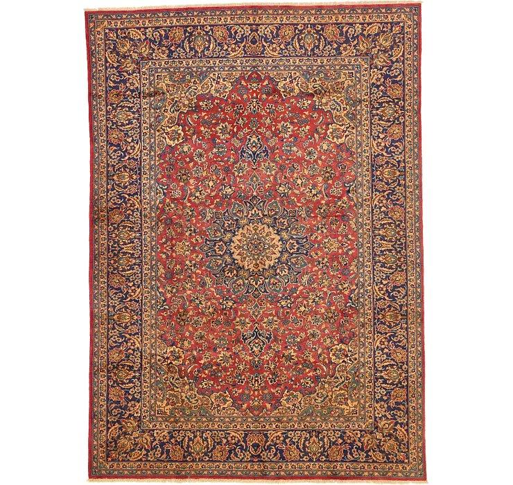 9' 7 x 13' 7 Kashan Persian Rug
