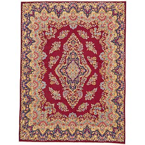 Unique Loom 9' 7 x 12' 9 Kerman Persian Rug
