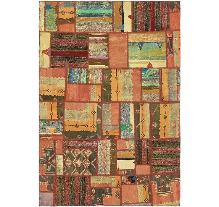 6' x 8' 10 Ultra Vintage Persian Rug