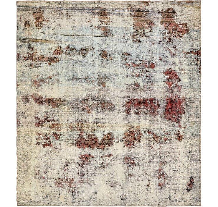 9' 6 x 10' 7 Ultra Vintage Persian Rug