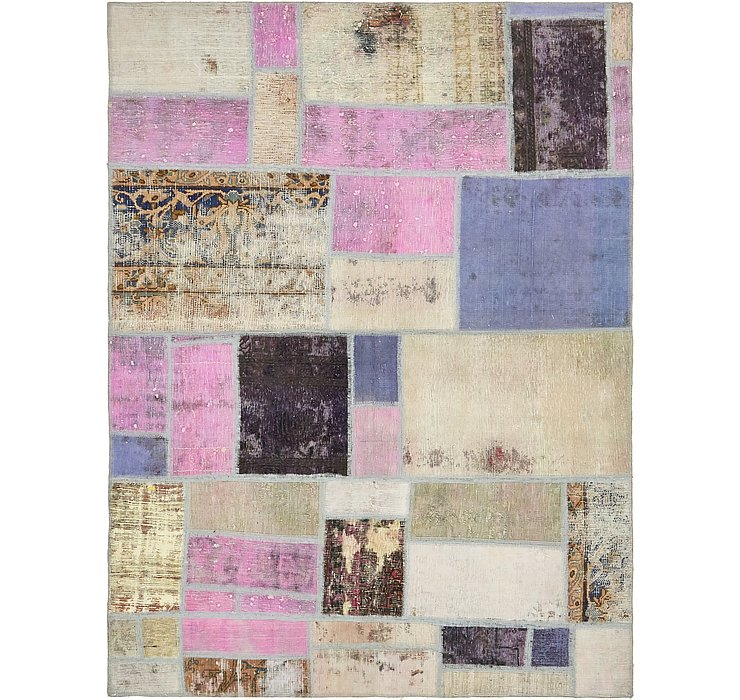 165cm x 218cm Ultra Vintage Persian Rug