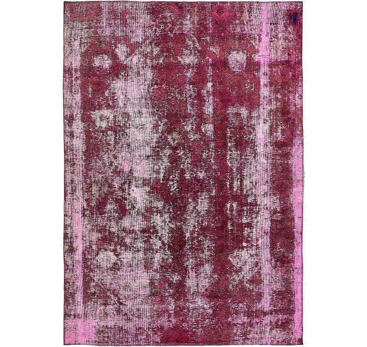 5' 11 x 8' 5 Ultra Vintage Persian Rug