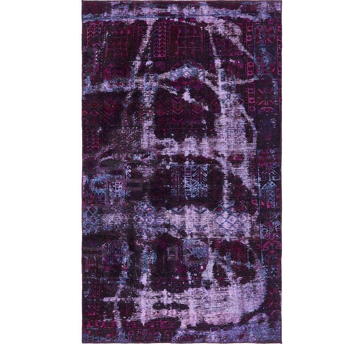 152cm x 267cm Ultra Vintage Persian Rug