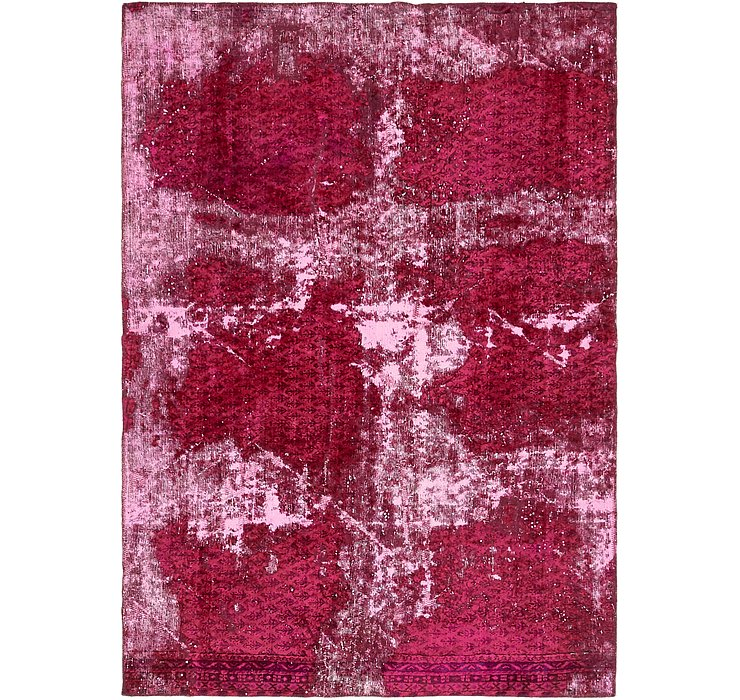 140cm x 200cm Ultra Vintage Persian Rug