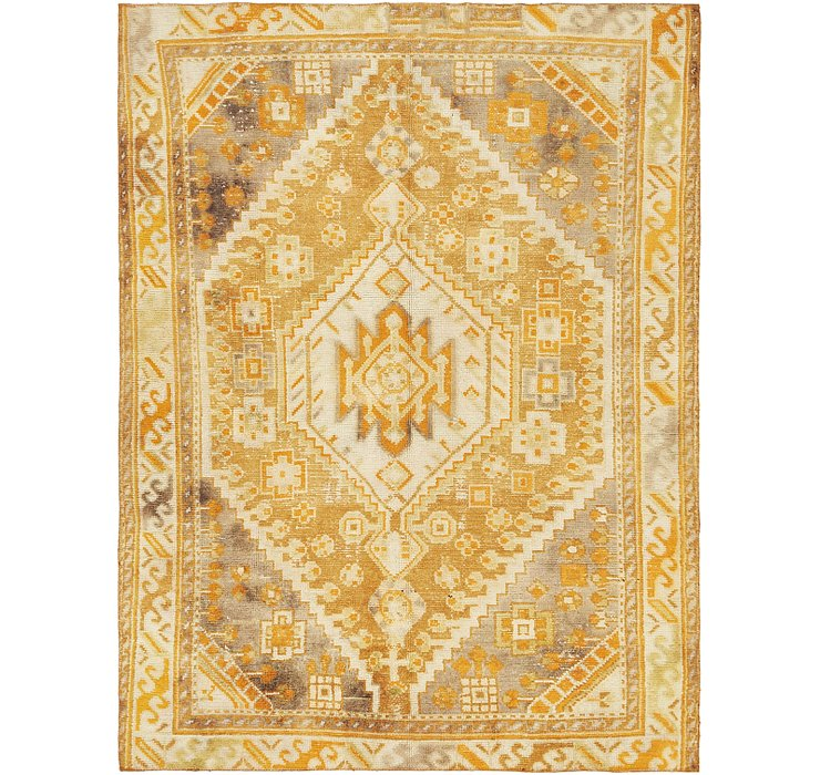 6' 6 x 8' 7 Ultra Vintage Persian Rug