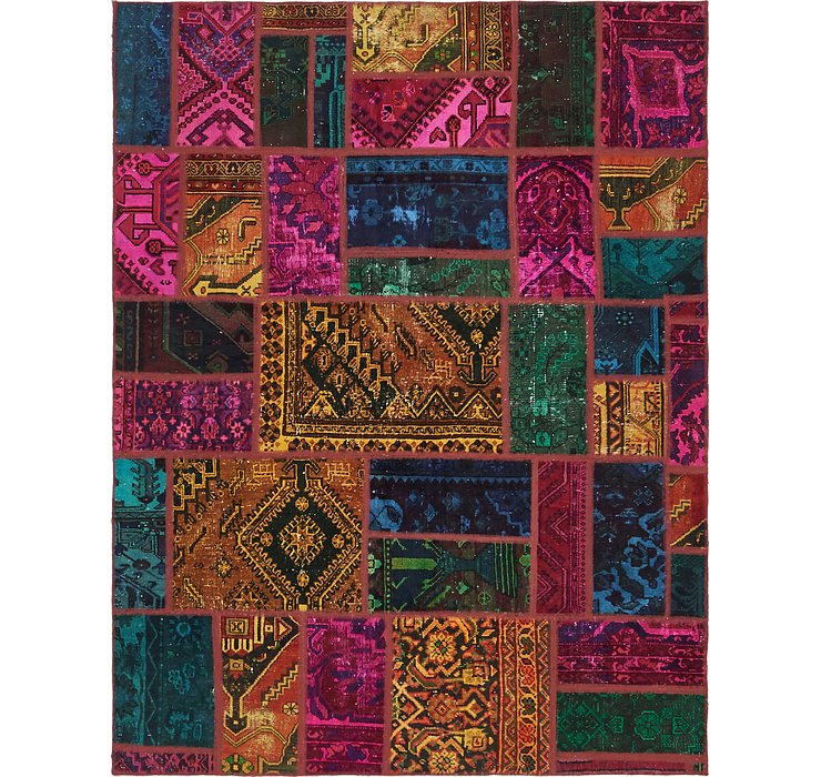 5' 10 x 7' 8 Ultra Vintage Persian Rug