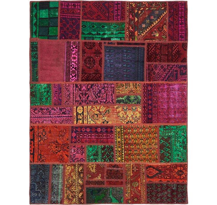 5' 9 x 7' 4 Ultra Vintage Persian Rug
