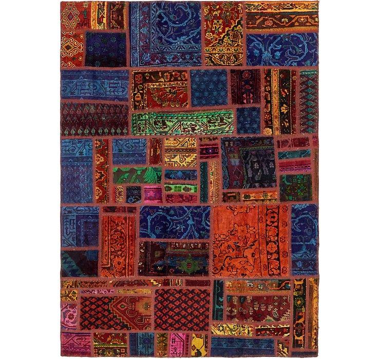 168cm x 235cm Ultra Vintage Persian Rug