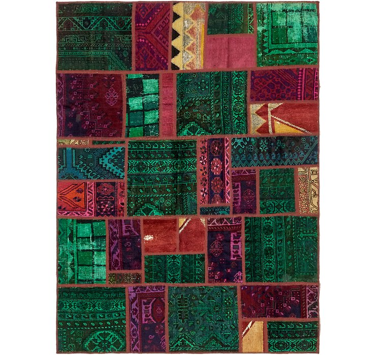 5' 9 x 7' 10 Ultra Vintage Persian Rug