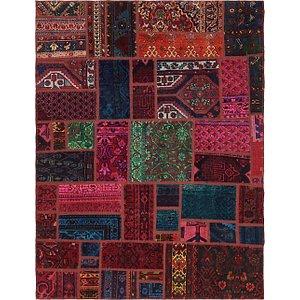 Unique Loom 5' 8 x 7' 5 Ultra Vintage Persian Rug