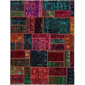 Unique Loom 5' 10 x 7' 8 Ultra Vintage Persian Rug