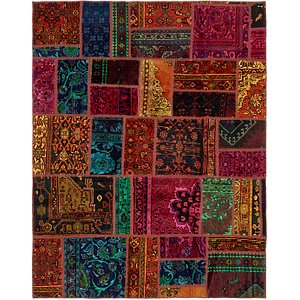 Unique Loom 6' x 7' 8 Ultra Vintage Persian Rug