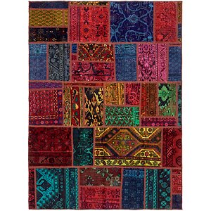 Unique Loom 5' 7 x 7' 8 Ultra Vintage Persian Rug