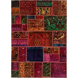 Unique Loom 5' 6 x 7' 9 Ultra Vintage Persian Rug