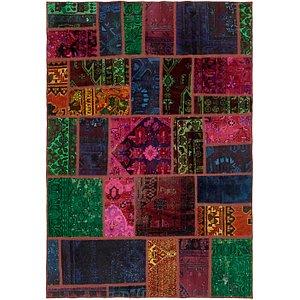 Unique Loom 5' 5 x 7' 9 Ultra Vintage Persian Rug